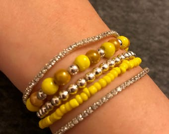 Sparkle Stack beaded bracelet