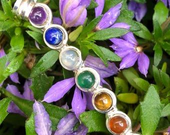 7 Chakra Crystal Pendant
