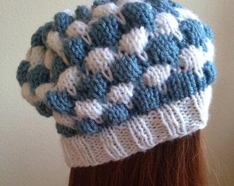 Multicolored Bubble Hat