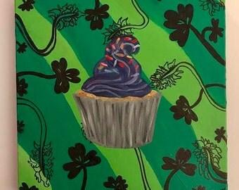 Whimsical Cupcake