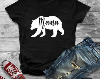 Mama Bear Shirt, Bear Shirts, Mama Bear, Shirts For Mom, Mom Life, Mom Tshirt, Bear Shirts for Mom, Mothers Day
