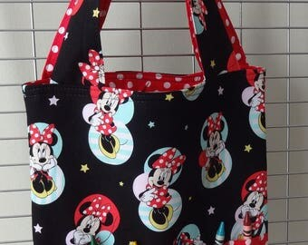 Minnie Mouse Coloring Book/Crayon Tote