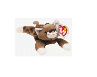 Ty Beanie Babies Pounce the Cat 1997