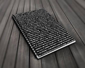 Video Game Controller Spiral Notebook - 120 Page Lined Notebook / Journal Perfect For Retro Gamers Video Gamers For Him and For Her