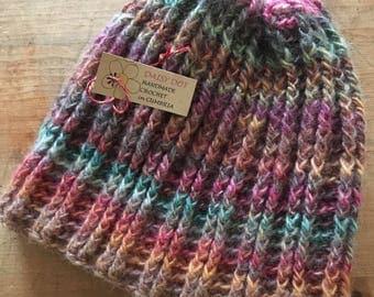 Crochet Multi Colour Hat