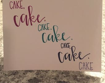 Birthday Card - Rihanna Birthday Cake