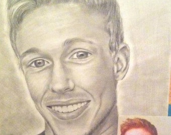 Custom Portrait Drawing (1 or 2 people)