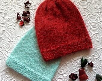 Light mohair Hat