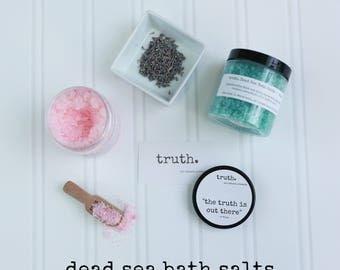 truth. dead sea bath salts