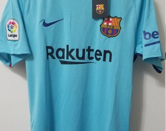 Barcelona Lionel Messi #10 Away Jersey 2017 2018