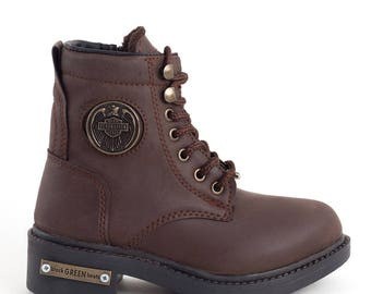 Brown Laced boots
