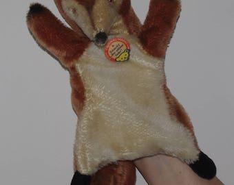 "Vintage Steiff Hand Puppet ""Smardy"" 6690/18"