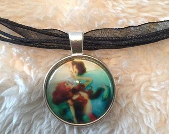 Mermaid Pendant Necklace