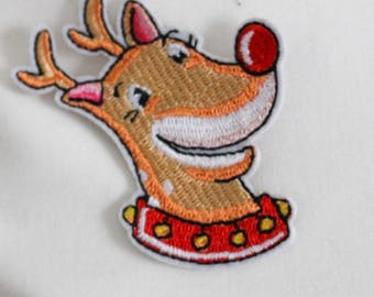 Deer Magnetic Embroidery Design for Pillow Case