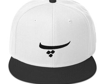 P letter in Farsi Snapback Hat
