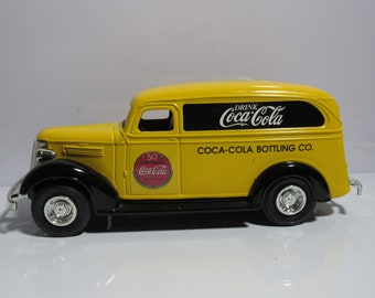 Coca Cola panel truck bank by ERTL 50th Ann