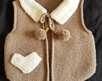 Baby waistcoat