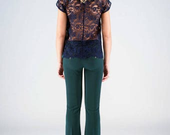 Pantalone a Zampa - Flared slim trouser