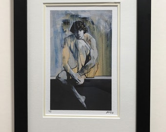 Framed Limited Edition Print of Painting named 'James'