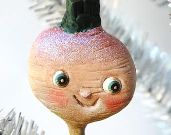 Turnip Ornament