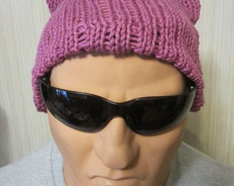 PUSSY HATS 4 Non Pink Resistance March Beanies Stretchy, --All Size XL-- Free shipping UsA and Charity Donation