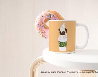 Pumpkin Spice Latte | PSL | Pug Mug | Large Mug | Fall Mug | Pumpkin Spiced Latte | Pumpkin Spice Mug | Pumpkin Everything | Fall Decor |Pug