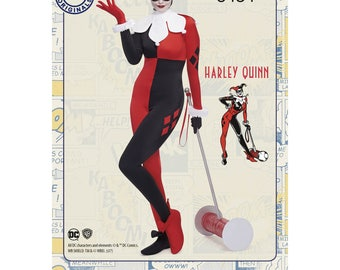Simplicity 8434-Classic Harley Quinn- Size 10-18