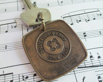 Vintage Hotel Fob and Key - Hyatt Regency O'Hare - O'Hare Airport