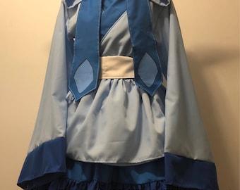 Glaceon Kimono Dress Set