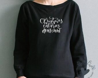Christmas SVG | Calories Dont Count | Christmas Cut File | Christmas Designs | Funny Christmas SVG | Christmas Sayings | SVG for Christmas