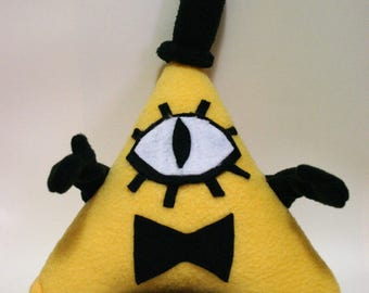 Fleece Plush of Bill Cipher from Gravity Falls