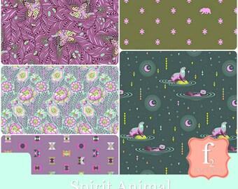 Spirit Animal Fabric Bundle  - Tula Pink - Freespirit Fabrics