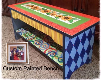 whimsical painted furnitureWhimsical Painted Furniture Painted Farmhouse