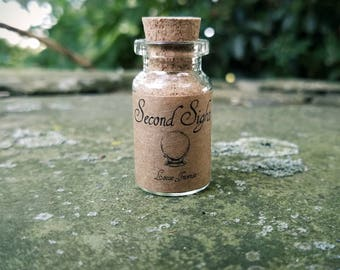 SECOND SIGHT- Hand-Blended Loose Herbal Incense for Divination, Scrying, Clairvoyance, Psychic