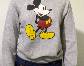 Disney Casuals Mickey Mouse Crew Neck