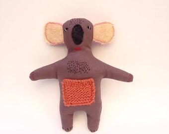 Koala, Stuffed Animal Koala, Koala Bear, Koala Plush, Australian Animal Toy, Stuffed Toy, Koala Doll