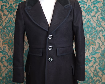 Tweed Frock Overcoats