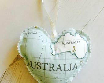 World map pillow Etsy
