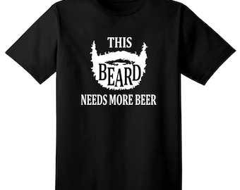 Funny Tshirt - Beard lovers t shirt, fathers day gift