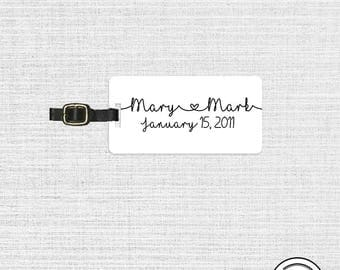 Luggage Tag First and Special Date Luggage Tag - Single Tag