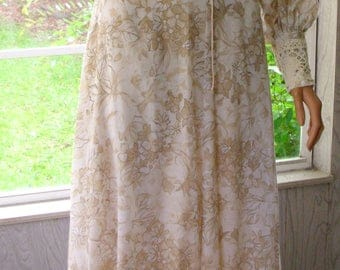 "Gunne Sax Dress ""A Dash of Floral Demure"""