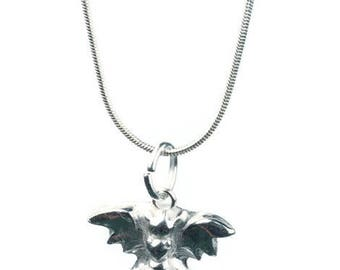 Dragon Necklace- fine sterling silver mythical creature jewellery