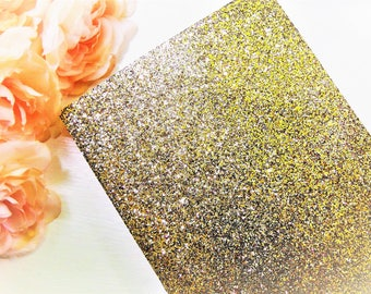 25 Gold GLITTER SHEETS Cardstock Paper DIY Wedding Birthday Invitations Table Number Card Blank Invites Cards Party Supplies 5x7 4x6 3x5