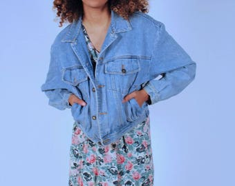 Vintage 90's Womens Denim Jacket