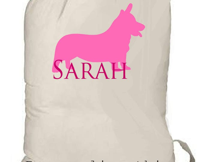 Laundry Bag, Extra Large Personalized laundry tote, tote bag, graduation gift, girl's camp bag, family travel bag, laundry travel bag, tote