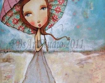 Under My Umbrella- Canvas Prints