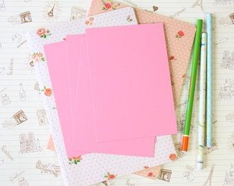 Rose Pink Vintage Series craft postcard blanks