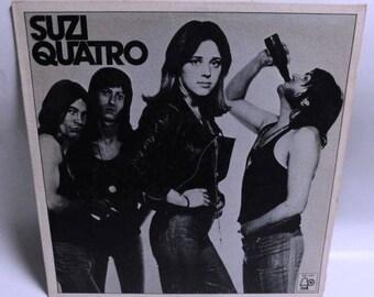 Suzi Quatro - s/t - Vintage Vinyl Record Album 1974 Bell Records Bell 1302 Texture Glossy