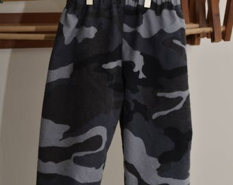 Black Camo Pants
