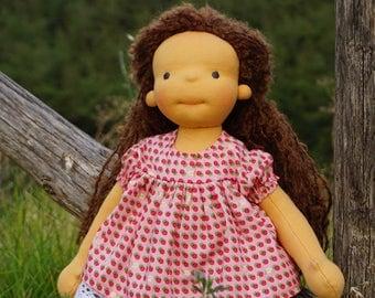 """Waldorf Doll Alethea, 15"""" OOAK doll"""